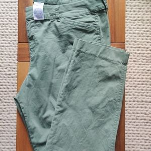 Old Navy Mid Rise Ankle Pixie Pants Sz 14